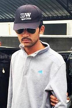 Nghi phạm chính vụ đánh bom bị bắt hôm 31-8. Ảnh: Bangkok Post