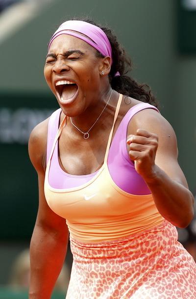 Serena phấn khích sau khi giành chức vô địch