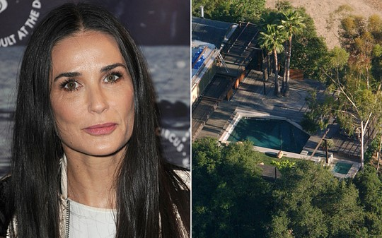Demi cho biết rất sốc khi nghe tin có người chết trong bể bơi nhà mình
