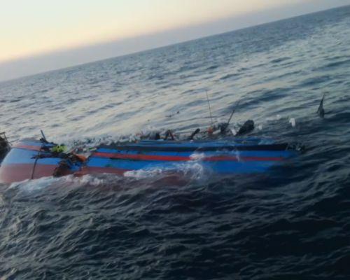 Bị đâm mạnh, tàu cá QNg - 98879TS& chìm dần