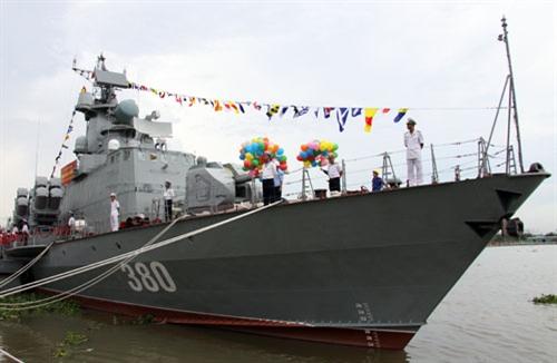 Tàu tên lửa M4, phiên hiệu 380