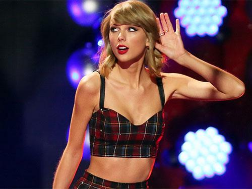 Ca sĩ Taylor Swift Ảnh: Reuters