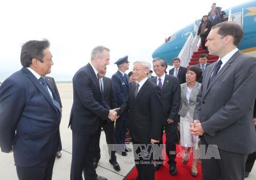 Đại sứ Mỹ tại Việt Nam Ted Osius đã về Mỹ đón Tổng Bí thư