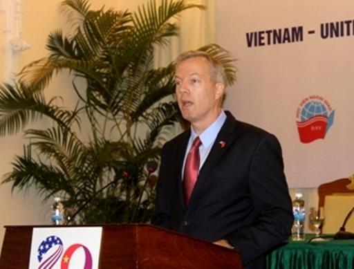 Đại sứ Mỹ Ted Osius chia sẻ ông tin tưởng 20 năm đầu tiên chỉ là phần mở đầu cho một câu chuyện dài hơn và phong phú hơn rất nhiều trong quan hệ Việt - Mỹ
