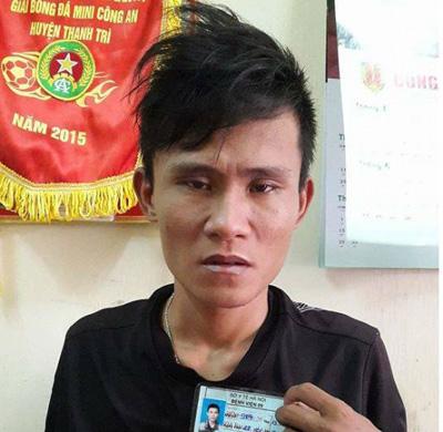 Tên cướp nhiễm HIV Trần Thanh Xuân hung hãn chống trả CSGT
