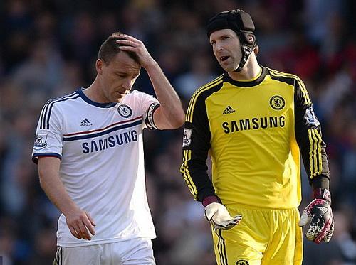 John Terry đánh giá rất cao đồng đội tài năng Petr Cech