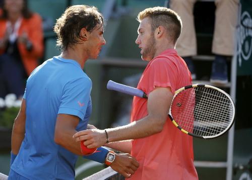 Nadal thắng thuyết phuc Jack Sock, chờ gặp Djokovic