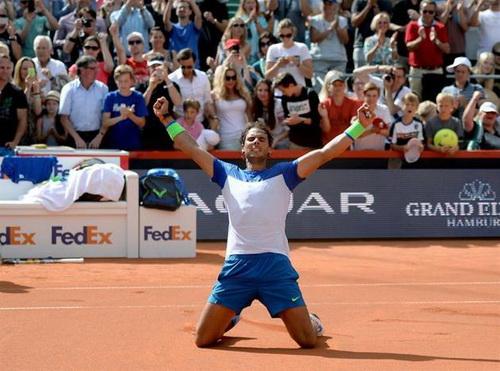 ... và giành chiến thắng quan trọng nhất từ đâu năm sau khi đánh bại Fabio Fognini