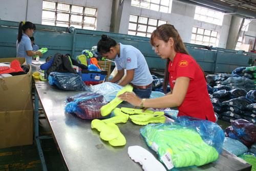 Luật BHXH luôn hướng đến mục tiêu bảo đảm quyền lợi người lao động Ảnh: Khánh Chi