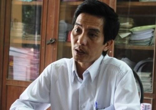 Thầy Phan Thanh Nguyên, Hiệu trưởng trường THCS Lý Tự Trọng đã tự nhận hình thức kỷ luật là từ chức.