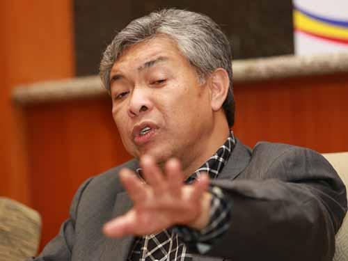 Bộ trưởng Nội vụ Malaysia Ahmad Zahid Hamidi Ảnh: Malaymail Online
