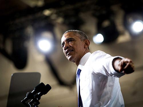 Tổng thống Barack Obama dự kiến kêu gọi tăng thuế nhằm vào những người giàu nhất nước trong Thông điệp Liên bang 2015 Ảnh: The New York Times
