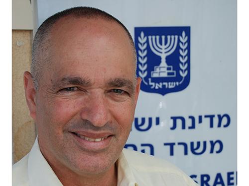 Ông Yigal Caspi Ảnh: audiatur-online.ch