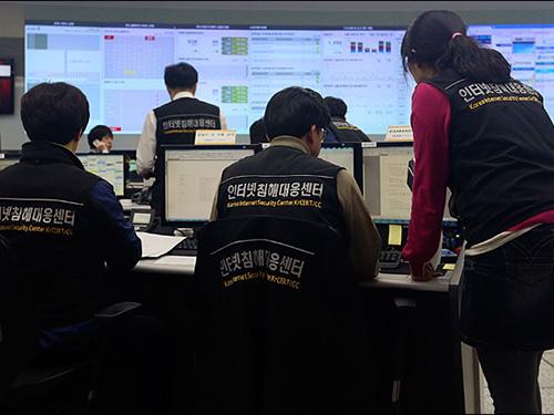 Hàn Quốc thường xuyên cáo buộc Triều Tiên tấn công mạng máy tính nước này Ảnh: Yonhap