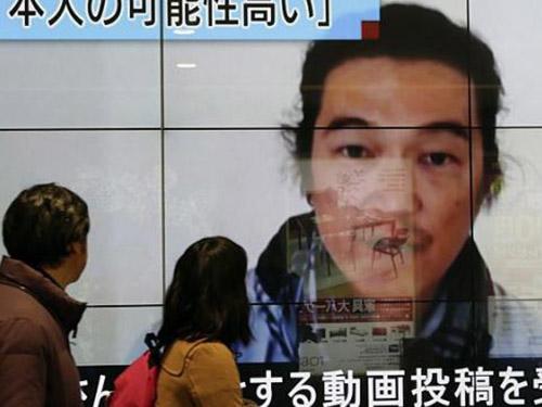 Nhật Bản cam kết chống khủng bố sau khi nhà báo Kenji Goto bị hành quyết. Ảnh: EPA