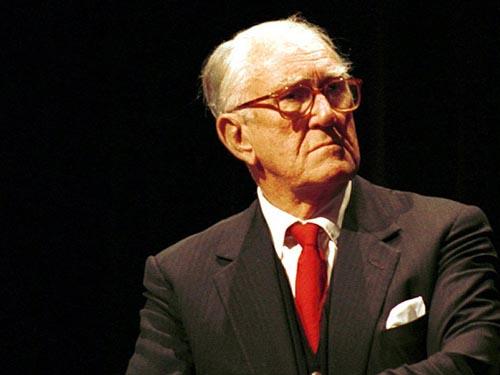 Cựu Thủ tướng Úc Malcolm Fraser Ảnh: REX FEATURES