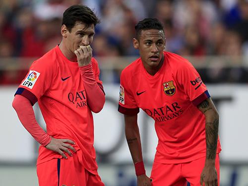 Messi và Neymar sẽ là 2 trong 3 hiểm họa cho hàng thủ PSGẢnh: REUTERS