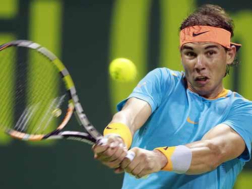 Nadal vẫn chưa chuẩn bị tốt nhất vào đầu mùa bóngẢnh: REUTERS
