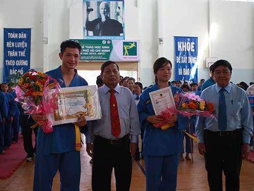 Hai võ sư Đài Loan được phong cấp