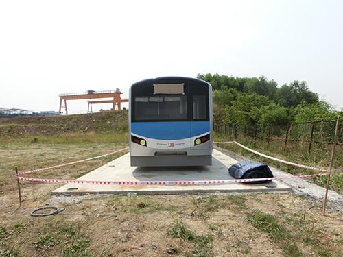 Mô hình tàu cho tuyến metro số 1