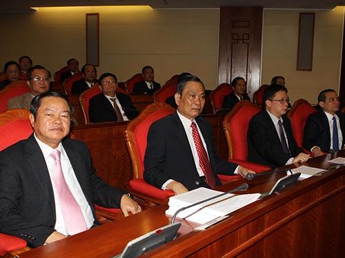 Các đại biểu dự phiên bế mạc hội nghịẢnh: TTXVN