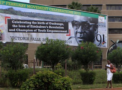 Tiệc sinh nhật năm nay của ông Mugabe được tổ chức hoành tráng hơn năm ngoái. Ảnh: Reuters