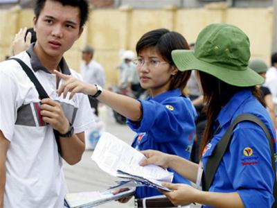Sinh viên Sài Gòn đang chạy đôn, chạy đáo chuẩn bị đón tiếp, giúp đỡ các tân sinh viên ở tỉnh lên nhập học