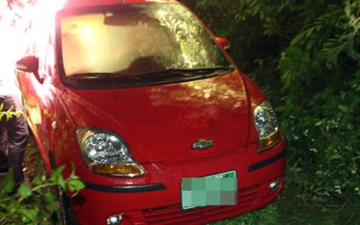 Nhân viên tình báo Hàn Quốc nghi tự tử trong xe. Ảnh: Yonhap News