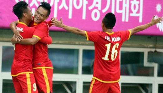 Tuyển Olympic Việt thi đấu ấn tượng tại ASIAD 2014, Hàn Quốc vừa qua