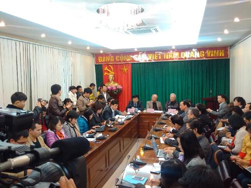 Toàn cảnh cuộc họp báo về tình hình sức khỏe ông Nguyễn Bá Thanh