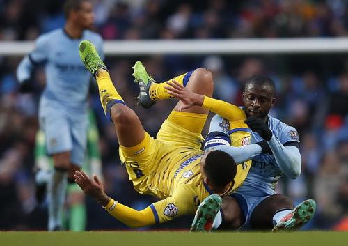Trận đấu khó khăn cho Toure và Man City