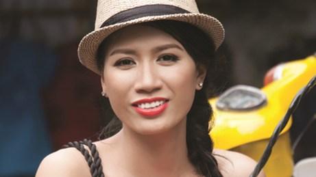 Người mẫu Trang Trần  Ành nguồn Internet