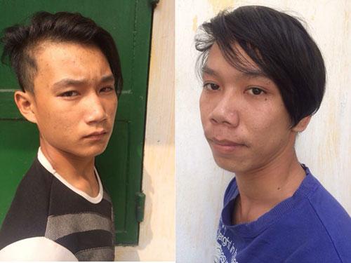 Nguyễn Phú Quí (ảnh trái) và Phạm Hải Đằng Ảnh do cơ quan công an cung cấp