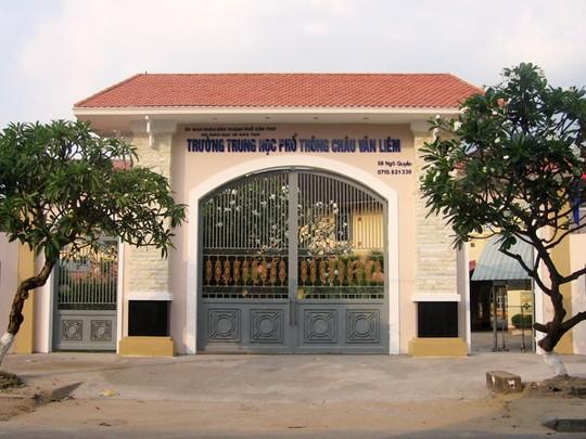 Trường THPT Châu Văn Liêm sắp tròn 100 tuổi