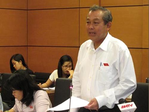 Chánh án TAND Tối cao Trương Hòa Bình cho biết TAND Tối cao đã xin lỗi và bồi thường 7,2 tỉ đồng cho ông Nguyễn Thanh Chấn