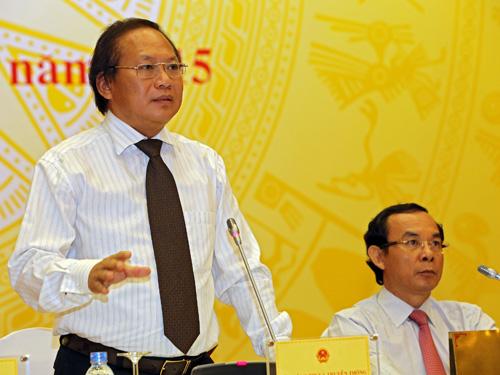 Thứ trưởng Bộ Thông tin-Truyền thông Trương Minh Tuấn cho biết tất cả các đoàn đi Trường Sa đều có thể dễ dàng phát hiện và tận mắt chứng kiến những hoạt động xây dựng, các công trình lớn Trung Quốc triển khai trên biển