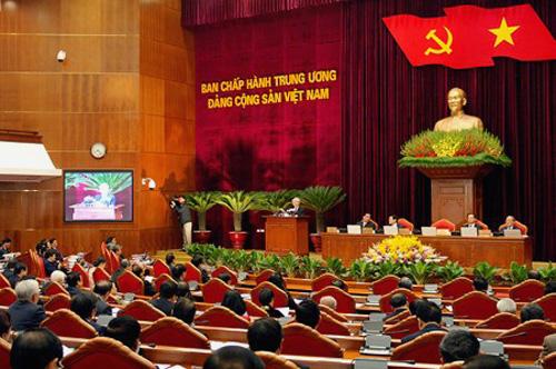 Hội nghị lần thứ 10 Ban chấp hành Trung ương Đảng khóa XI - Ảnh: VGP