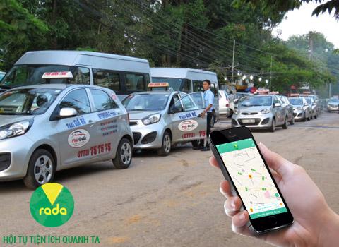 Ứng dụng taxi cảm ứng Vrada giảm 5% trên giá cước đồng hồ