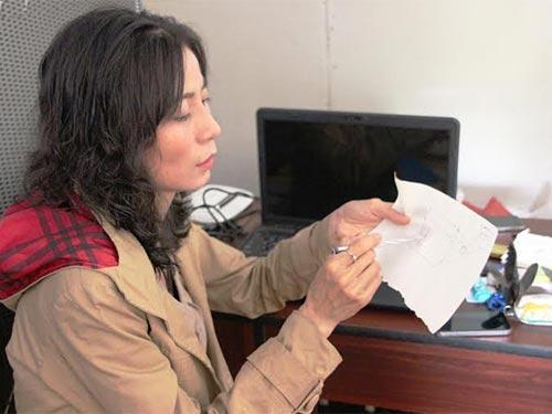 Bà Phạm Thị Ngọt cung cấp những giấy tờ để chứng minh 5 triệu yen là của chồng mình