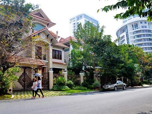 Theo Luật Nhà ở 2014 có hiệu lực từ ngày 1-7, người nước ngoài được sở hữu nhà tại Việt Nam. Trong ảnh: Khu đô thị Phú Mỹ Hưng, quận 7 Ảnh: TẤN THẠNH