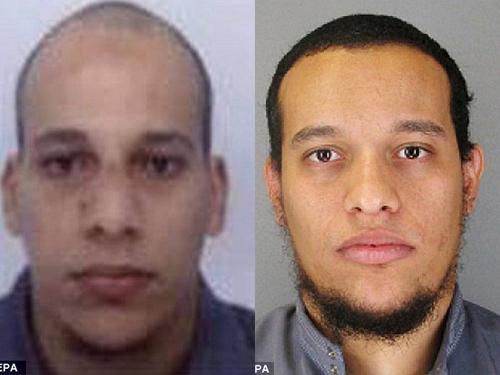 Hai tên khủng bố có liên hệ với al-Qaeda Cherif và Said Kouachi