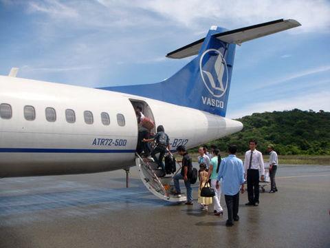 Máy bay của Vasco