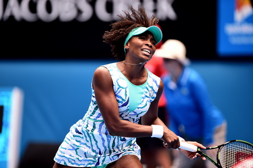 Thất vọng Venus Williams
