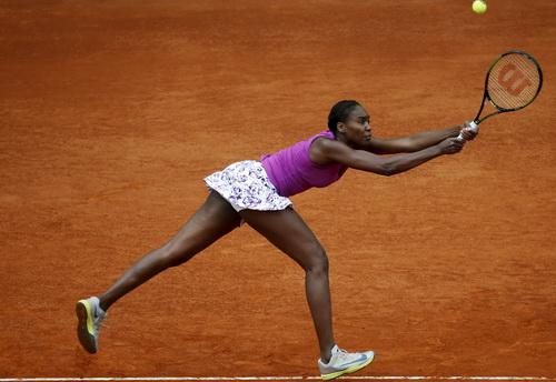 Venus Wiliams dừng chân ở vòng 1 Madrid Open