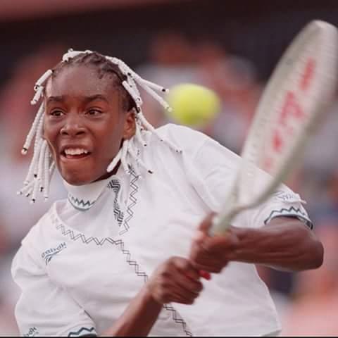 Trước đây Venus là thảm họa thời trang tại Wimbledon