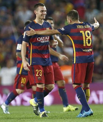 Vermaelen là người hùng đem về 3 điểm cho Barcelona