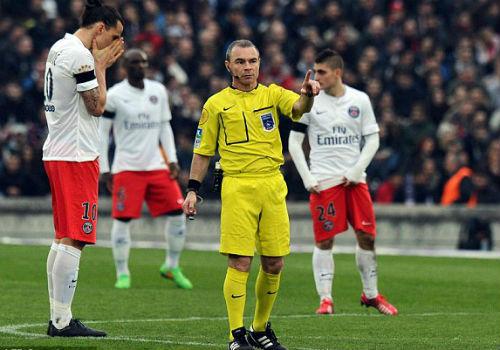 Ibrahimovic đã nhục mạ trọng tài và nước Pháp sau trận thua Bordeaux