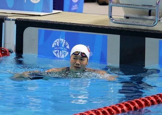 Ánh Viên có thành tích thi đấu nổi bật tại SEA Games 28. Ảnh: Quang Liêm