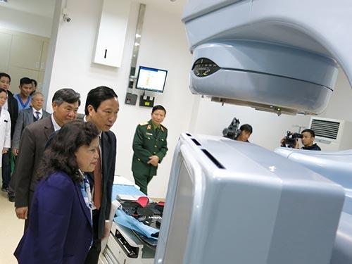 Trung tâm Dịch vụ xạ trị đi vào hoạt động sẽ mở ra triển vọng điều trị ung thư tại Việt Nam với tỉ lệ thành công tương đương các quốc gia phát triển trong khu vực