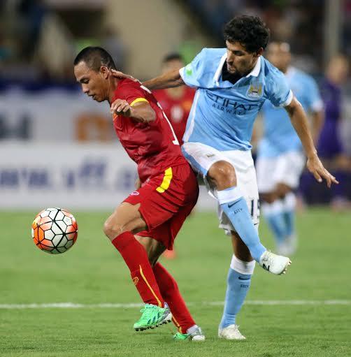 Tự tin là điểm nổi bật của tuyển Việt Nam trước Man City